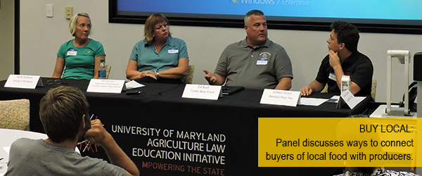 Panel Discussion: Navigating the Local Food Marketplace